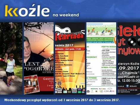 Plakat: KKoźle na weekend! Nr 62.