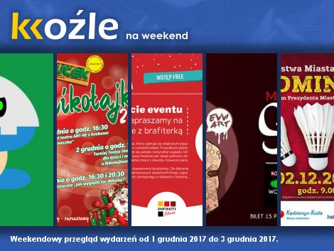 Plakat: KKoźle na weekend! Nr 75.
