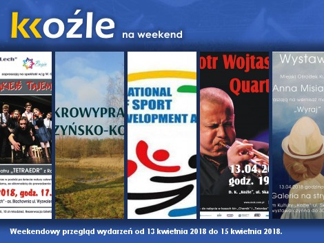 Plakat: KKoźle na weekend! Nr 94.