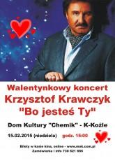 Krzysztof Krawczyk na Walentynki