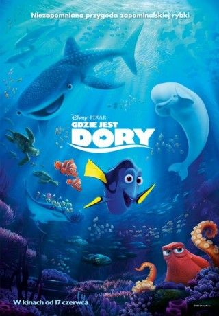 Gdzie jest Dory /dubbing/2D
