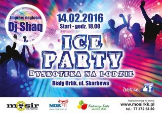 Ice Party - dyskoteka na lodzie