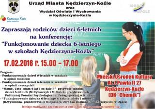 Konferencja: Funkcjonowanie dzieci 6-letnich w szkołach