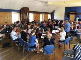 Koncert połączonych szkół muzycznych