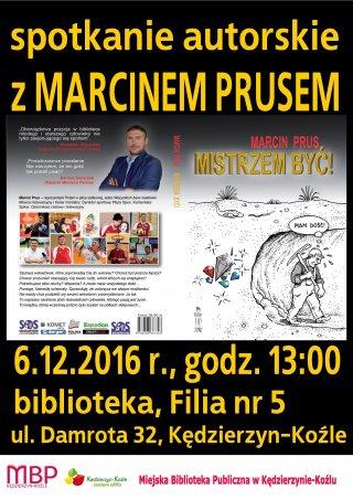 Spotkanie autorskie z Marcinem Prusem