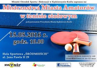 Mistrzostwa Miasta Amatorów w tenisie stołowym