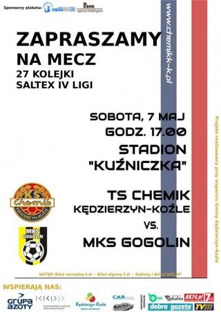 Ts Chemik Kędzierzyn-Koźle - Mks Gogolin