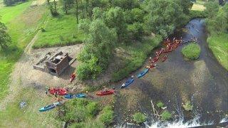 Spływ kajakowy Kłodnicą na trasie Pławniowice - Sławięcice