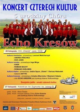 """Koncert Galowy Chóru """"Echo Kresów"""""""