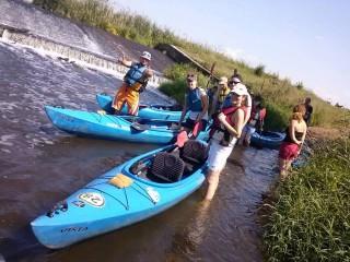 Spływ kajakowy rzeką Kłodnicą