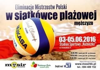 Eliminacje Mistrzostw Polski w siatkówce plażowej mężczyzn