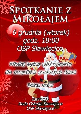 Spotkanie z Mikołajem w OSP Sławięcice