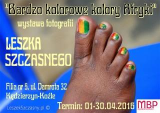 """Wystawa fotografii: """"Bardzo kolorowe kolory Afryki"""""""