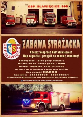 Zabawa strażacka w OSP Sławięcice