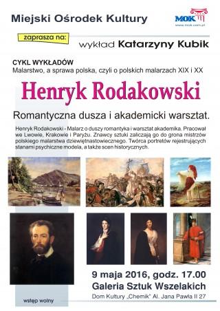 Wykład: życie i twórczość Henryka Rodakowskiego