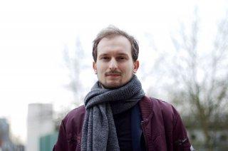 Plakat: Koncert - Mateusz Pulawski LUNAR Quartet
