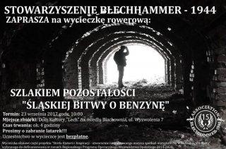 Szlakiem pozostałości Śląskiej Bitwy o Benzynę