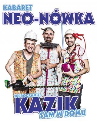 Plakat: Kabaret Neo-Nówka - Kazik sam w domu