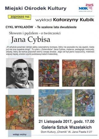 Wykład z historii sztuki: Jan Cybis