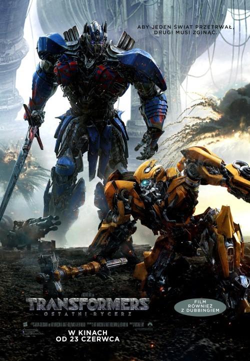 Plakat: Transformers: Ostatni Rycerz