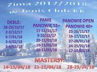 II tenisowy turniej deblowy z cyklu ZIMA 2017/18