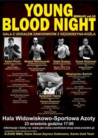 Gala MMA Young Blood Night