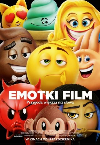 Plakat: Emotki. Film