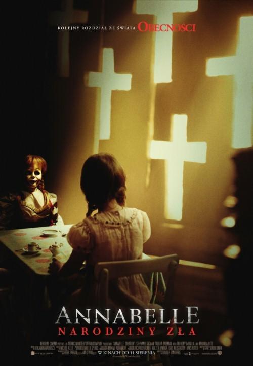Plakat: Annabelle: Narodziny zła