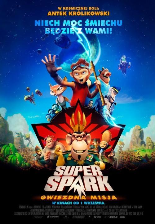 Plakat: Super Spark: Gwiezdna misja