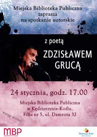 Spotkanie autorskie ze Zdzisławem Grucą