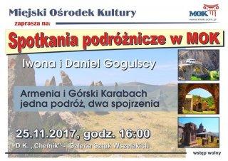 Spotkania podróżnicze w MOK: Armenia i Górski Karabach