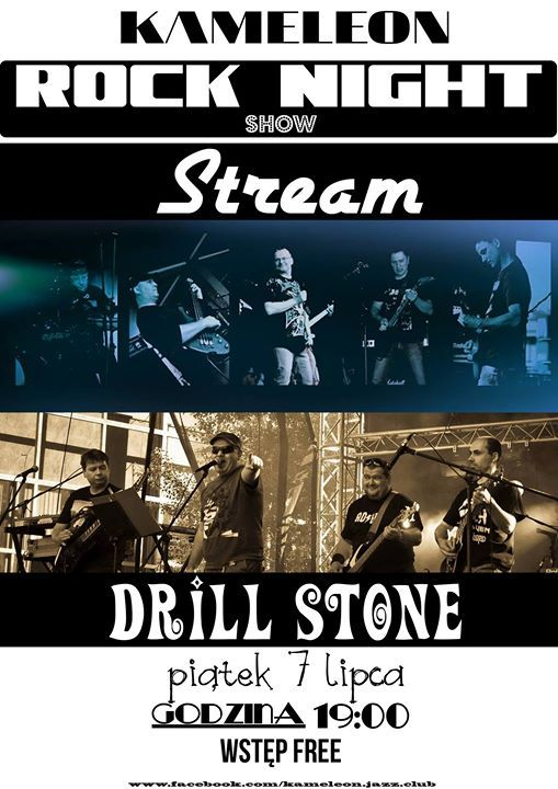 Plakat: Podwójny koncert: Stream + Drill Stone