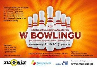 XIII Mistrzostwa Miasta Amatorów w bowlingu