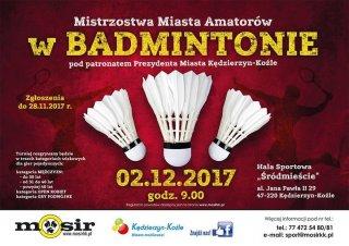 Mistrzostwa Miasta Amatorów w badmintonie