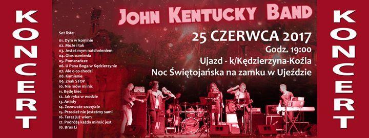 Plakat: Noc Świętojańska na zamku w Ujeździe