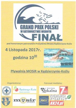 Finał Grand Prix Polski w sportowym ratownictwie wodnym