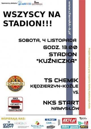 Mecz TS Chemik vs NKS Start Namysłów