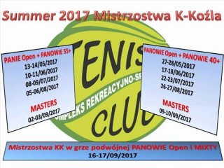 Tenisowe Mistrzostwa KK Masters