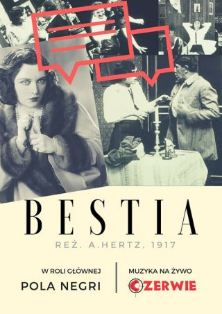 DKF: Bestia, reż. Hertz. Muzyka na żywo Czerwie