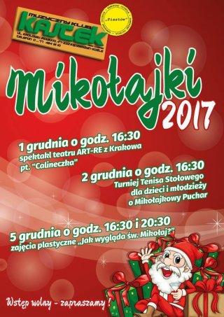 """Mikołajki w """"Kajtku"""" - Turniej Tenisa Stołowego"""